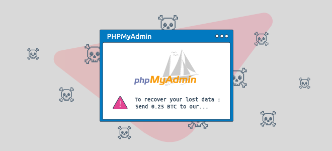 Protect phpMyAdmin to avoid data loss